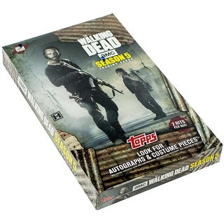 The Walking Dead Season 5 Hobby Collector's Trading Card Box
