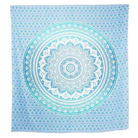 Queen Mandala Tapestry Cotton Bohemian Wall Decor Hanging Hippie Queen Bedspread