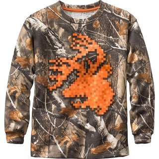 Legendary Whitetails Boys Digital Buck Long Sleeve T-Shirt