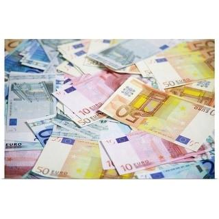 """Pile of euros"" Poster Print"