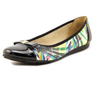 Anne Klein Sport Atalya Women  Round Toe Synthetic Black Flats