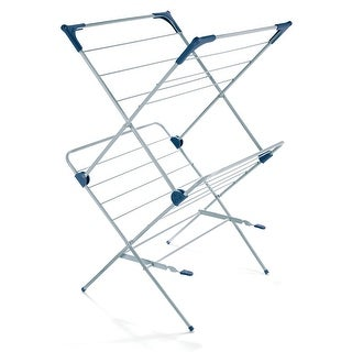 Polder DRY-4063 Dryer Rack Deluxe With Mesh, 2-Tier, Steel