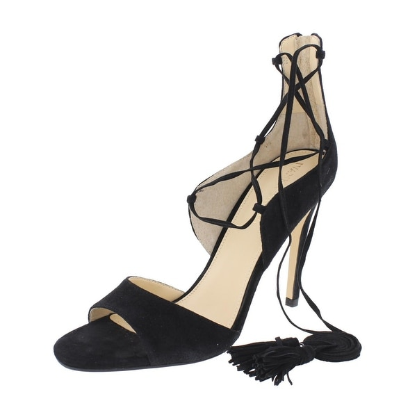 Ivanka Trump Womens Hanya 2 Dress Sandals Suede Open Toe