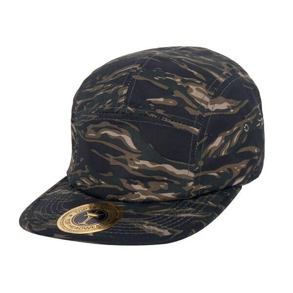 Shop TopHeadwear Camouflage Jockey Flat Bill Hat - Free Shipping On ... c1574fc3649