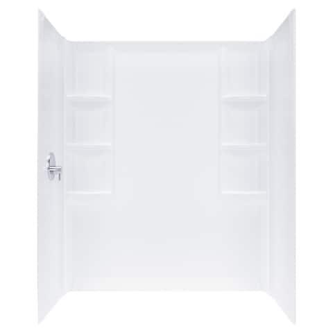 "American Standard 2946.SW Studio 72""H x 32""W Three Panel Shower Wall Set"