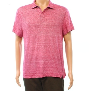 Michael Kors NEW Purple Pink Space Dye Mens Size XL Polo Rugby Shirt