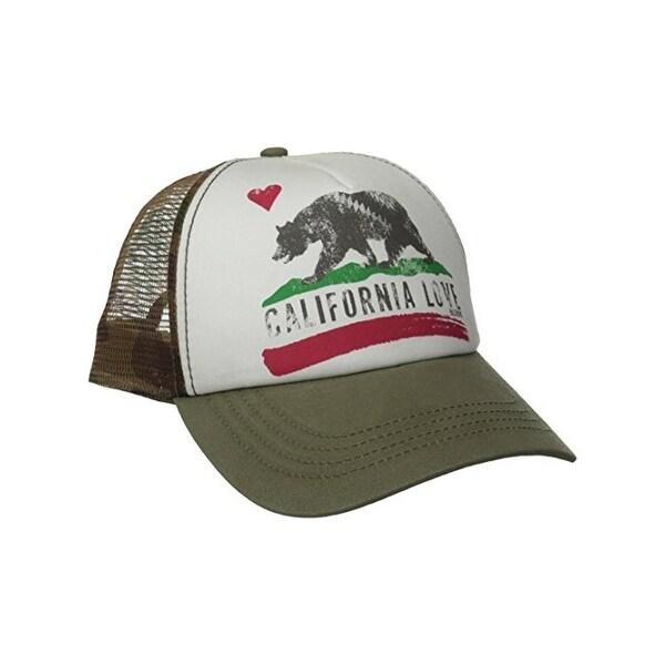 buy popular 169f9 1f996 ... switzerland billabong mens juniors pitstop trucker hat bear graphic  adjustable o s 0f5c3 d1372