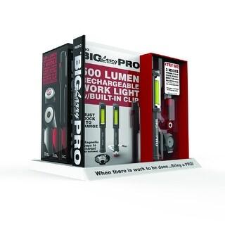 Nebo 6640 Big Larry Pro LED Flashlight, Black, 500 Lumens