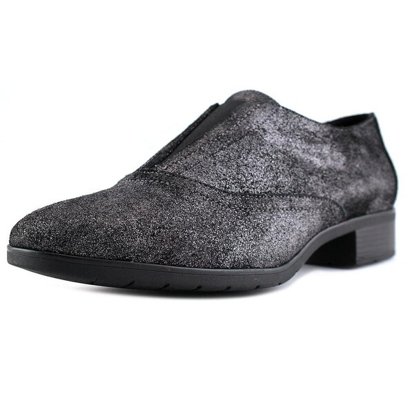 Easy Spirit Neota Pewter/Black Loafers