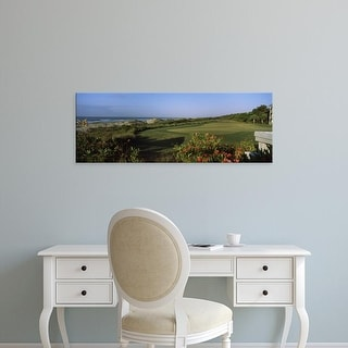 Easy Art Prints Panoramic Image 'Golf course, Kiawah Island Golf Resort, Charleston County, South Carolina' Canvas Art