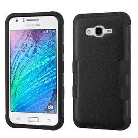 Insten Tuff Dual Layer Hybrid Rubberized Hard PC/ Silicone Case Cover For Samsung Galaxy J7 2015 Version