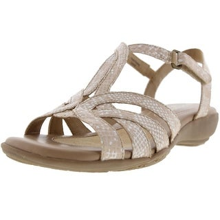 Naturalizer Womens Cassie Strappy Wedge Sandals