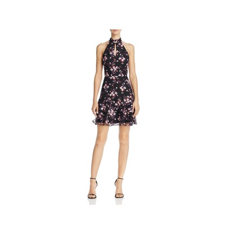 Parker Womens Luana Casual Dress Floral Fit & Flare