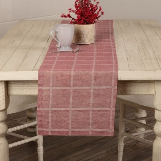 Link to Julie Plaid Runner Similar Items in Table Linens & Decor