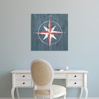 Easy Art Prints Grace Popp's 'Nautical Plank III' Premium Canvas Art