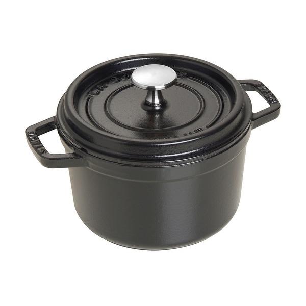 Staub Cast Iron 1.25-qt Round Cocotte