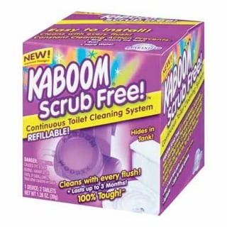 Kaboom 35113 Scrub Free Home Toilet Cleaning System