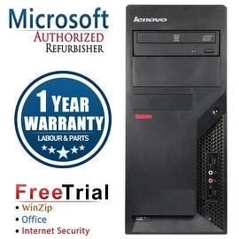 Refurbished Lenovo ThinkCentre M58P Tower Intel Core 2 Quad Q6600 2.4G 8G DDR3 2TB DVDRW Win 10 Pro 1 Year Warranty