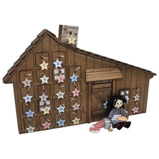 Little House on The Prairie Advent Calendar & Christmas Accessories that Fit 18 Inch American Girl Dolls