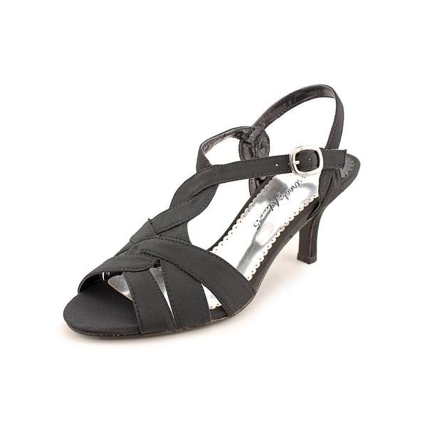 Easy Street Glamorous Womens Blk Sandals