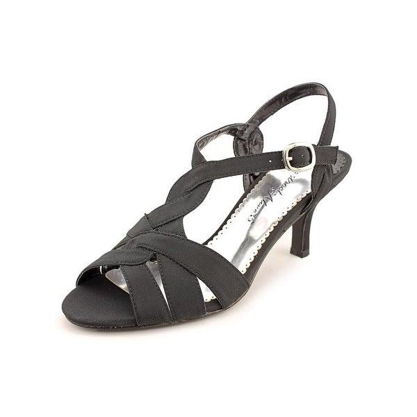 Easy Street Glamorous Blk Sandals