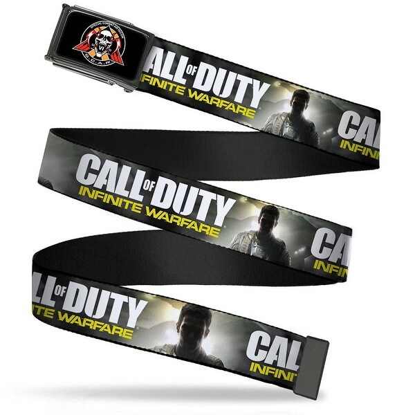 Call Of Duty Infinite Warfare Special Combat Air Region Badge Fcg Black Web Belt