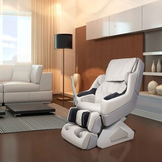 Dynamic 7800S Plus Arcadia Beige Synthetic Leather Zero-gravity Massage Chair