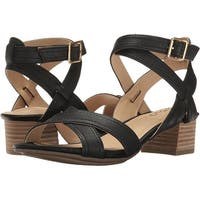 Me Too Womens MIA Leather Open Toe Casual Ankle Strap Sandals