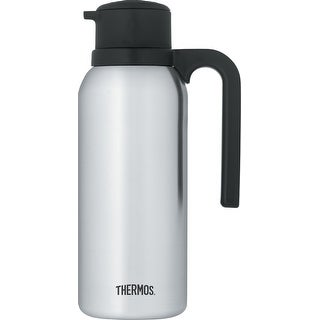 Thermos Vacuum Insulated 32 Ounce Compact Stainless Steel Beverage Bottle