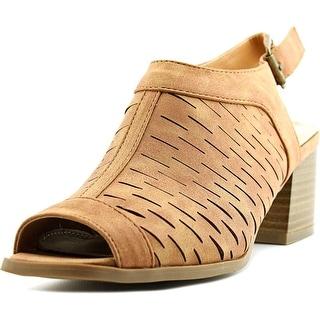 2 Lips Too Too Resa Women  Open-Toe Synthetic  Slingback Heel