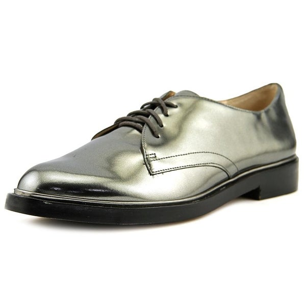 a70c49b330 Vince Camuto Ciana Women Round Toe Patent Leather Gray Oxford - Free ...