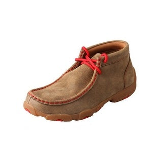 Twisted X Casual Shoes Boys Girls Kid Driving Mocs Bomber Red