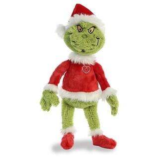 """Dr. Seuss - Grinch Santa 19"""" Plush Toy - multi"""