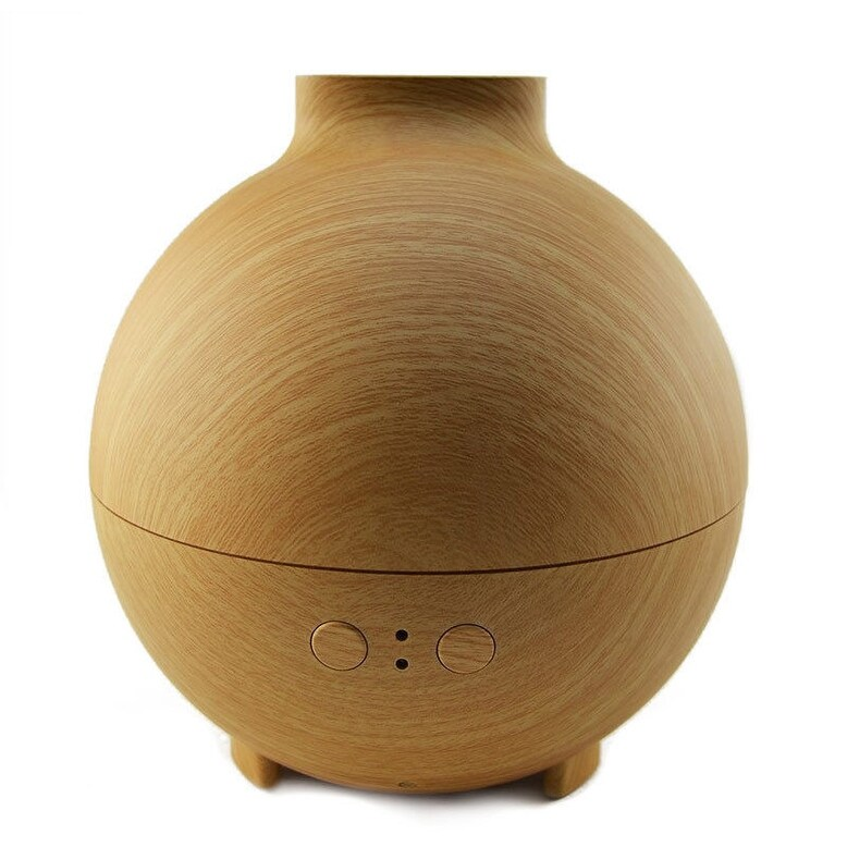Aromatherapy Essential Oils Diffuser 20006A 600ml Aroma Air Purifier Humidifier (Black)