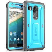 SUPCASE Nexus 5X Unicorn Beetle Pro Protective Case - Blue/Black