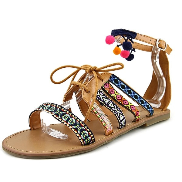 Indigo Rd. Baria Women Open Toe Synthetic Multi Color Gladiator Sandal
