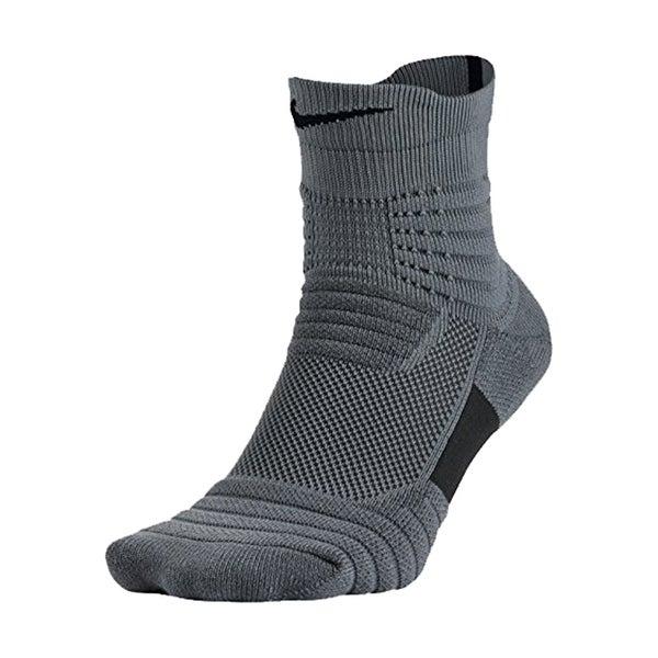 e7f8fe435a473 Nike Elite Versatility Mid Quarter Adult Basketball Athletic Training Socks