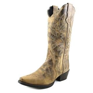 Laredo Triad Women Pointed Toe Leather Western Boot