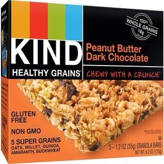 Kind Fruit and Nut Bars - Healthy Grains Granola Bars - Peanut Butter Dark Chocolate ( 40 - 1.2 OZ)