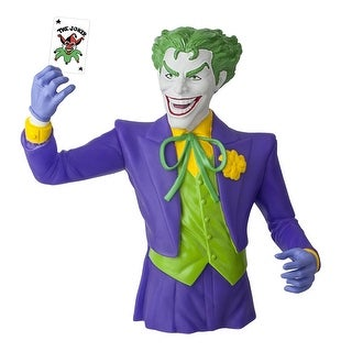 Batman DC Comics The Joker Plastic Bust Bank - multi