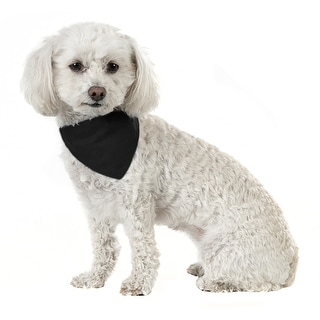 Link to Balec 10 Pack Solid Cotton Dog Bandana Triangle Bibs  - Small & - One Size Similar Items in Hair Accessories