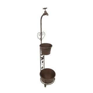 Vintage Style Faucet Decorative Double Garden Planter