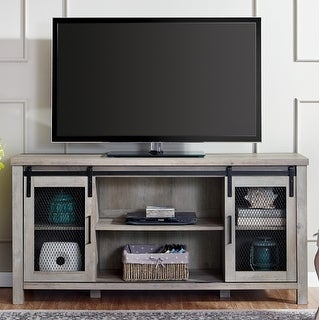 Link to 58-inch Sliding Mesh Door TV Stand Console Similar Items in TV Consoles