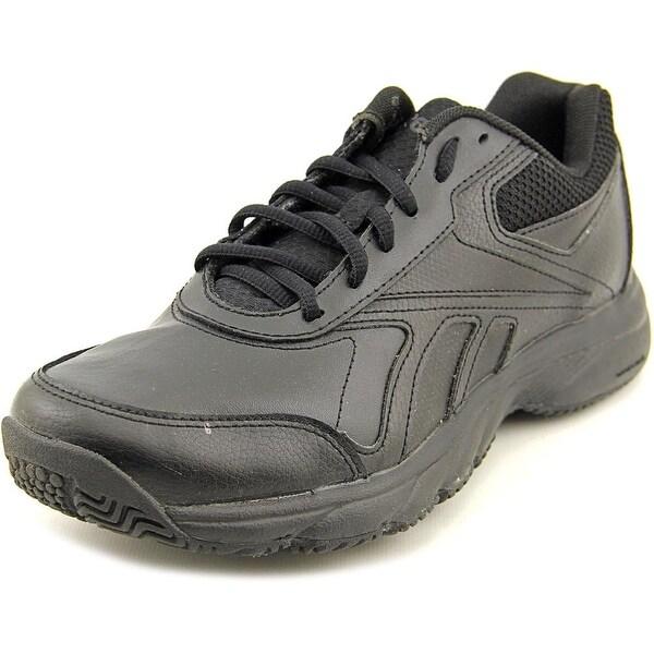 Shop Reebok Work N Cushion 2.0 Round Toe Leather Work Shoe - Free ... 036991de8