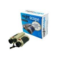 "Bulk Buys OA754-1 4 1/2"" x 5"" x 2"" 4X Power Night Green Tinted Lenses Scope Binocular"