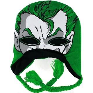 The Joker Mask Peruvian Knit Hat