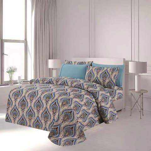 Premius Naomi Premium Luxurious Wrinkle-Free Microfiber Sheet Set