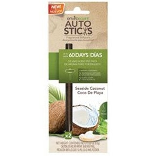 Enviroscent 1071036 Autosticks Fragrance Diffuser Sticks, Seasid