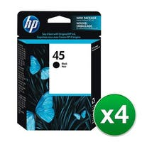 HP 45 Original Toner - Black (51645A) (4-Pack)