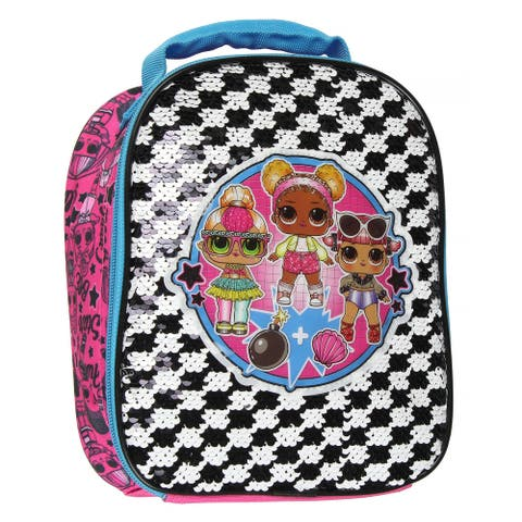 LOL Surprise Dolls Sequins Lunch Box Bombshell Reversible
